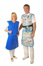 Skirt and Vest Lead apron (WSV) (right) without velcro fastener